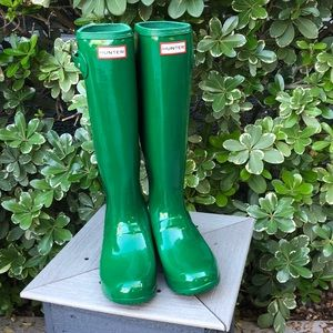 Hunter | Original Gloss Tall Boots NEW